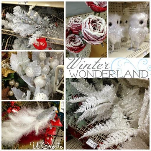 Winter Wonderland at Michaels Craft
