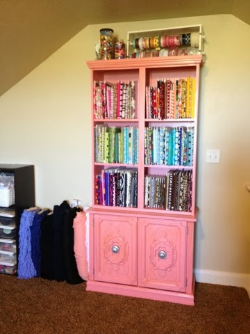 China Cabinet Makeover by I Am Only 1 Woman