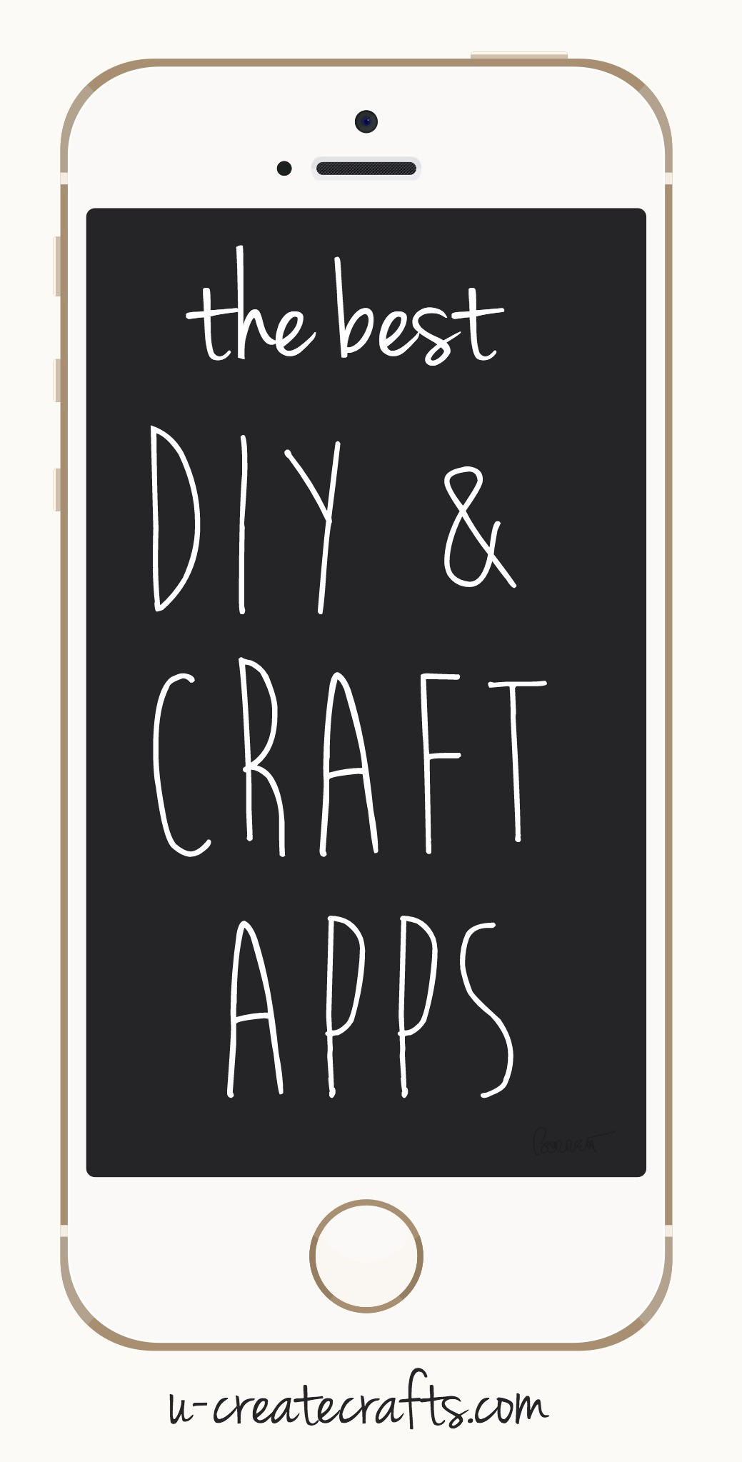 The Best DIY & Craft Apps - u-createcrafts.com