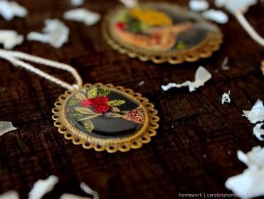 Jewelry Pendant Ornament Tutorial