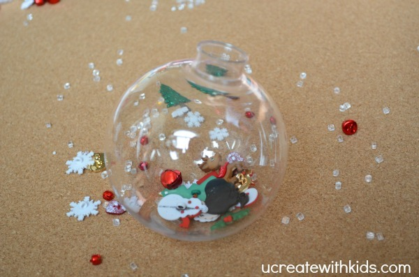 DIY I Spy Christmas Ornament
