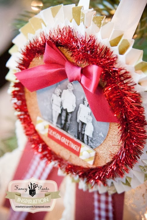 Award Photo Ornament Tutorial by Fancy Pants Designs