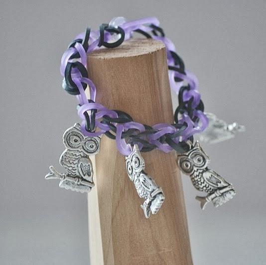 Loom Charm Bracelet Tutorial by Creative Southern Home