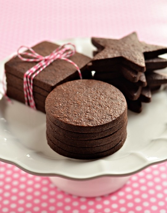Perfect Dark Chocolate Sugar Cookie at Sweetapolita