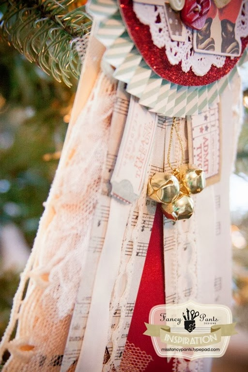 how to make a vintage ornament by Fancy Pants Designs