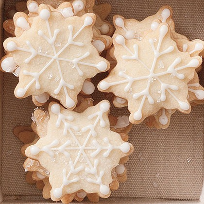 Snowflake Shortbread Recipe at My Recipes