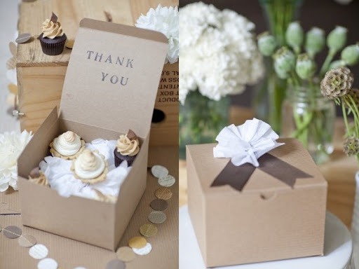 Thank You Cupcakes and Box
