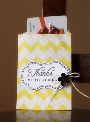Thank You Gift Card Holder