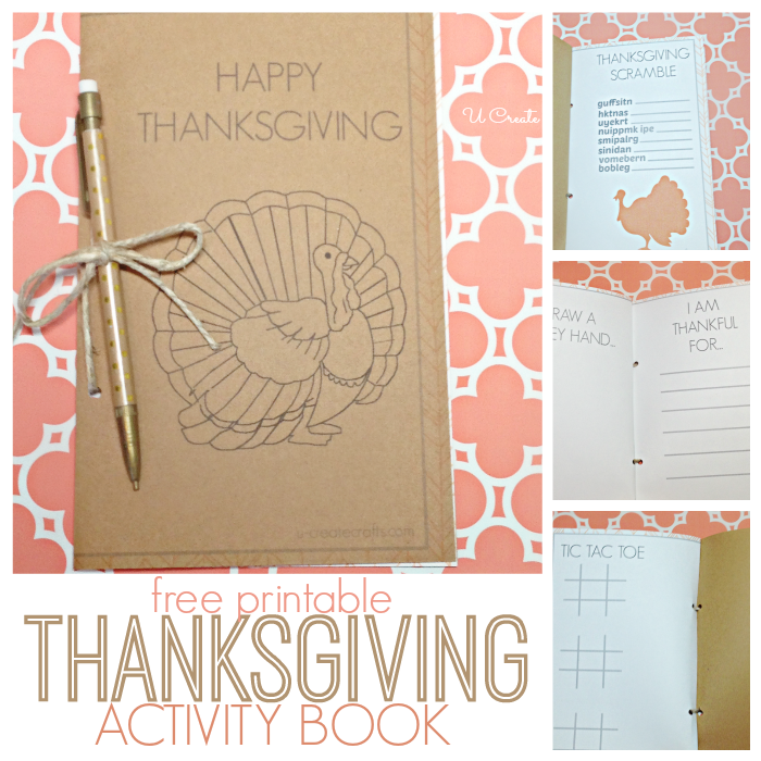 DIY Thanksgiving Activity Book