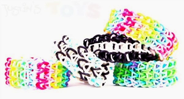 How to make a triple loom bracelet by Justin's Toys