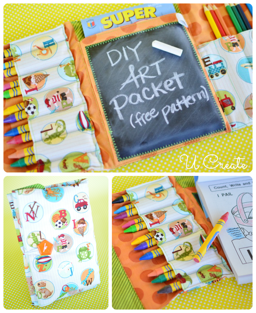 DIY Art Packet Tutorial by U Create