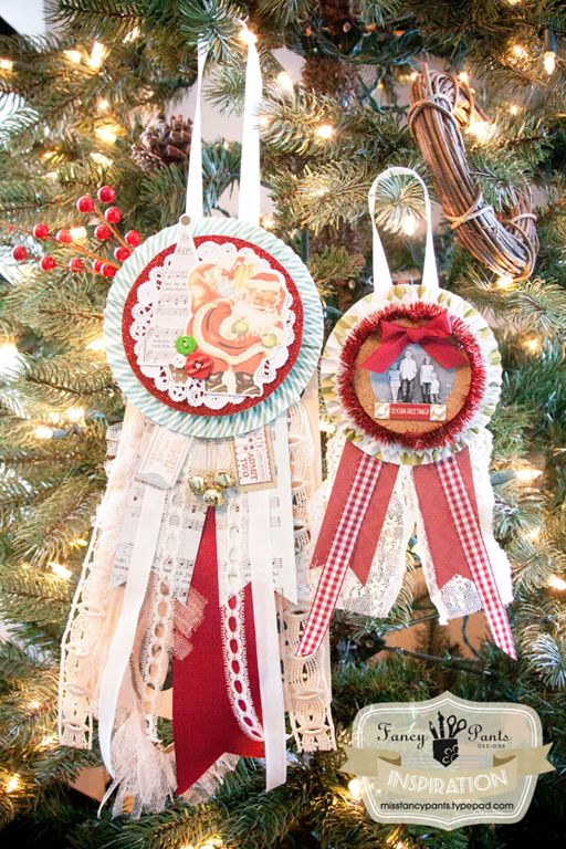 How to make award ornaments by Fancy Pants Designs