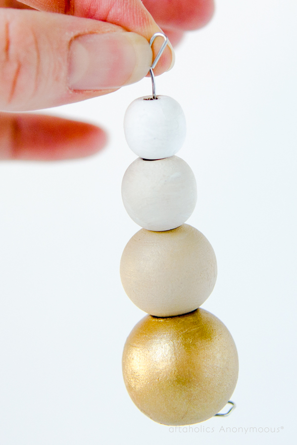 Gold Ombre Ornament by Craftaholics Anonymous