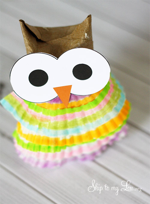 How to make an owl ornament with Skip to my Lou