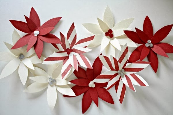 Paper Poinsettia Ornament Tutorial U Create