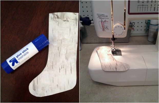 Birch Bark Stocking Ornament by Home Stories A to Z