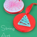 DIY String Art Ornaments