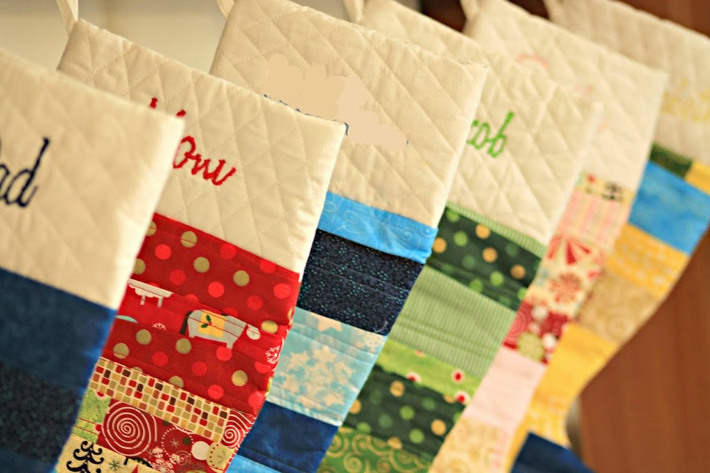 Easy Quilted Christmas Stocking Tutorial U Create