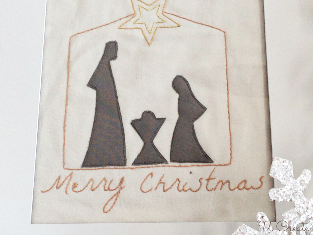 Free Stitchable: Unto Us a Child is Born by U Create