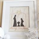 Free Stitchable: Unto Us a Child is Born Nativity Pattern by U Create
