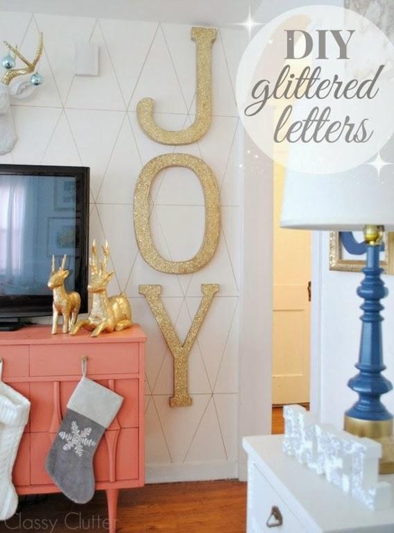 Glitter-Word-Art