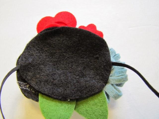 DIY Christmas Headband by Mama Says Sew