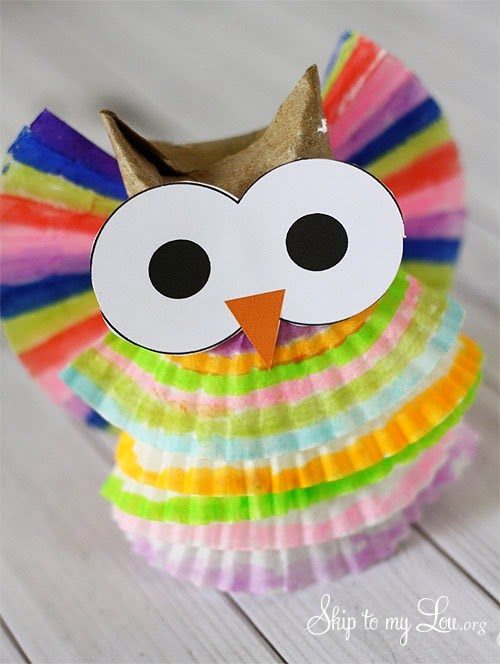 Owl Ornament by Skip to my Lou
