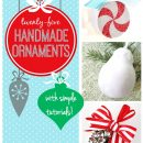25 Handmade Ornament Tutorials