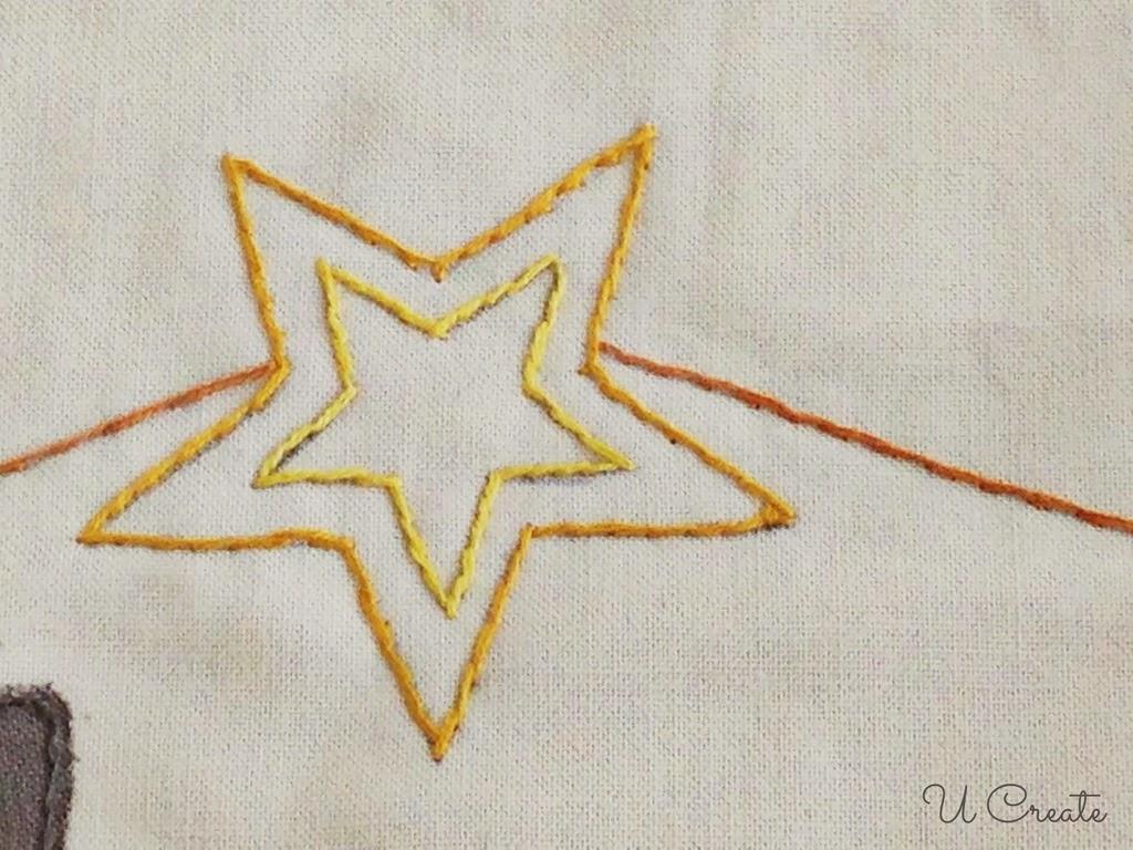 Free Stitchable: Unto Us a Child is Born by U Create