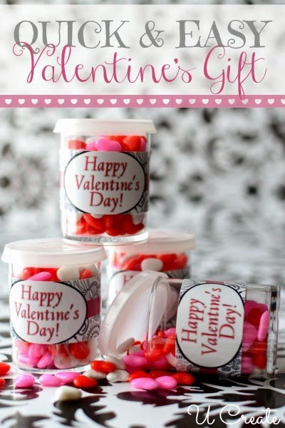 Simple Valentine Gift at u-createcrafts.com