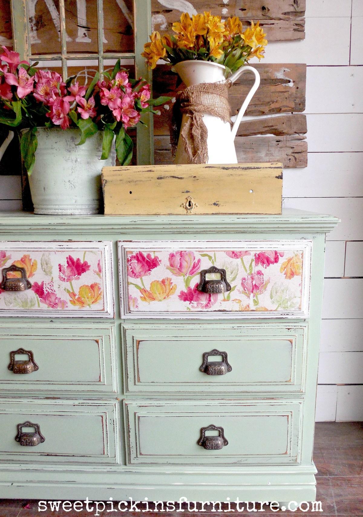Floral Wood Tutorial - GORGEOUS!