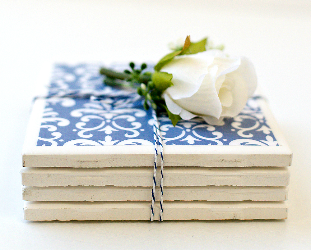 DIY Tile Coasters and tons of Mod Podge Tutorials