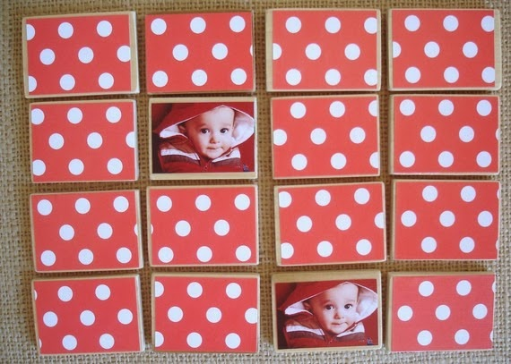 DIY Personalized Matching Game by Burlap + Blue