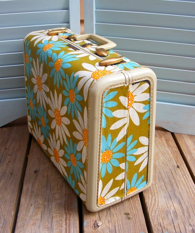 DIY Mod Podge Suitcase