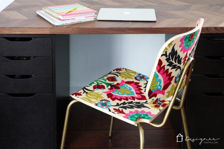 DIY Mod Podge Chair