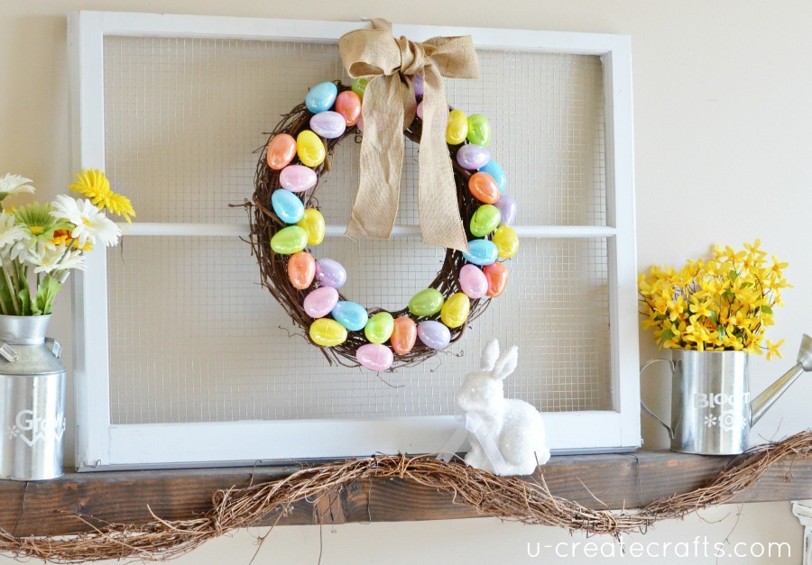 DIY-Easter-Mantel