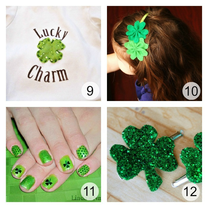 Green Tutorials for St. Patrick's Day u-createcrafts.com