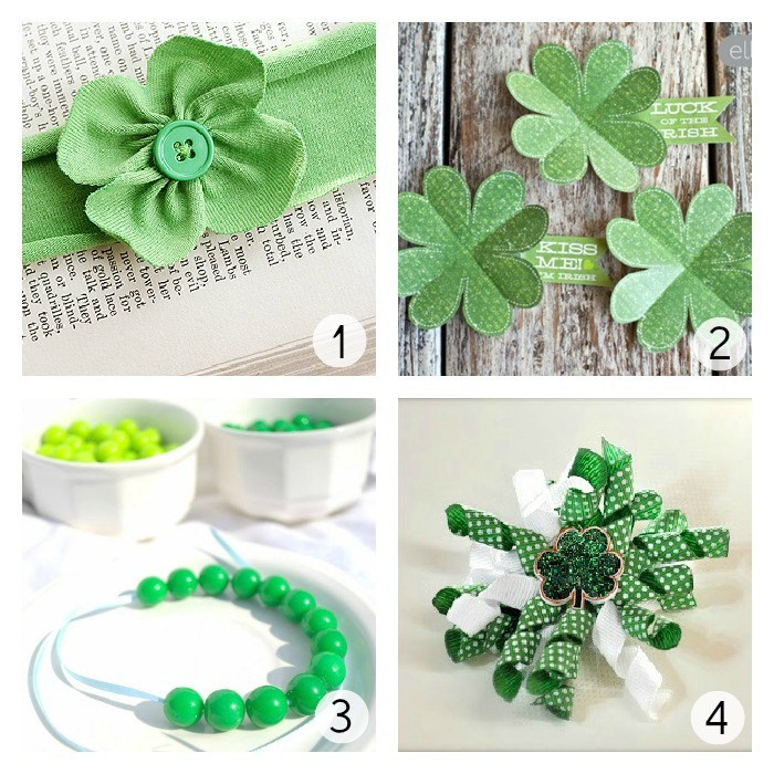 St. Patrick's Day Tutorials at u-createcrafts.com
