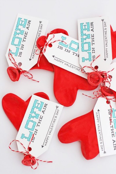 Balloon Valentine Printables by eighteen25