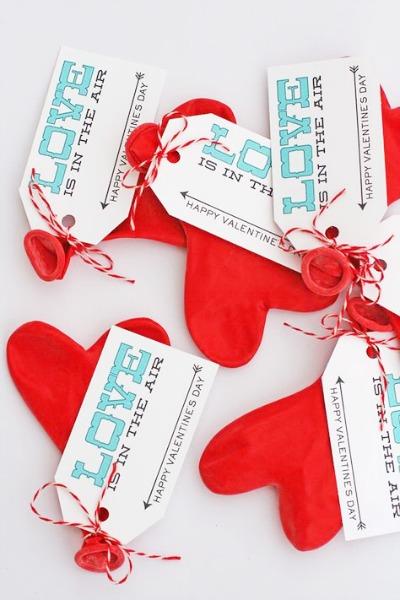 Balloon Valentine Printables by eighteen25