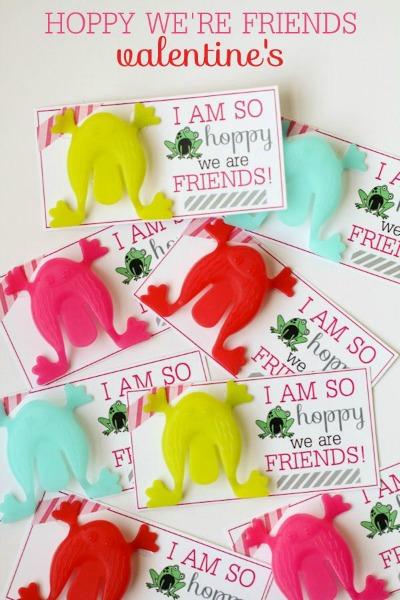 Frog Valentine Printables by Lil Luna