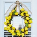 Tulip Wreath Tutorial for Spring