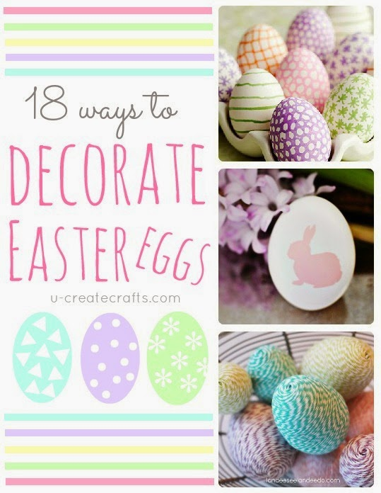 Canvas easter gift bag tutorial u create check out our egg decorating round up for more fun easter ideas negle Choice Image