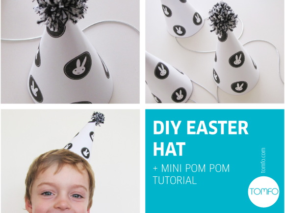DIY Easter Bunny Hat Printable by TOMFO