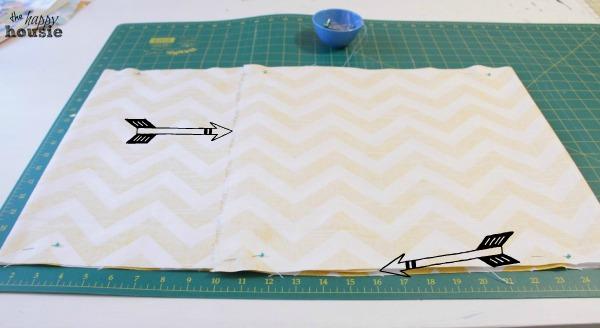 DIY-Envelope-Lumbar-Pillow-seam-and-pin-at-the-happy-housie