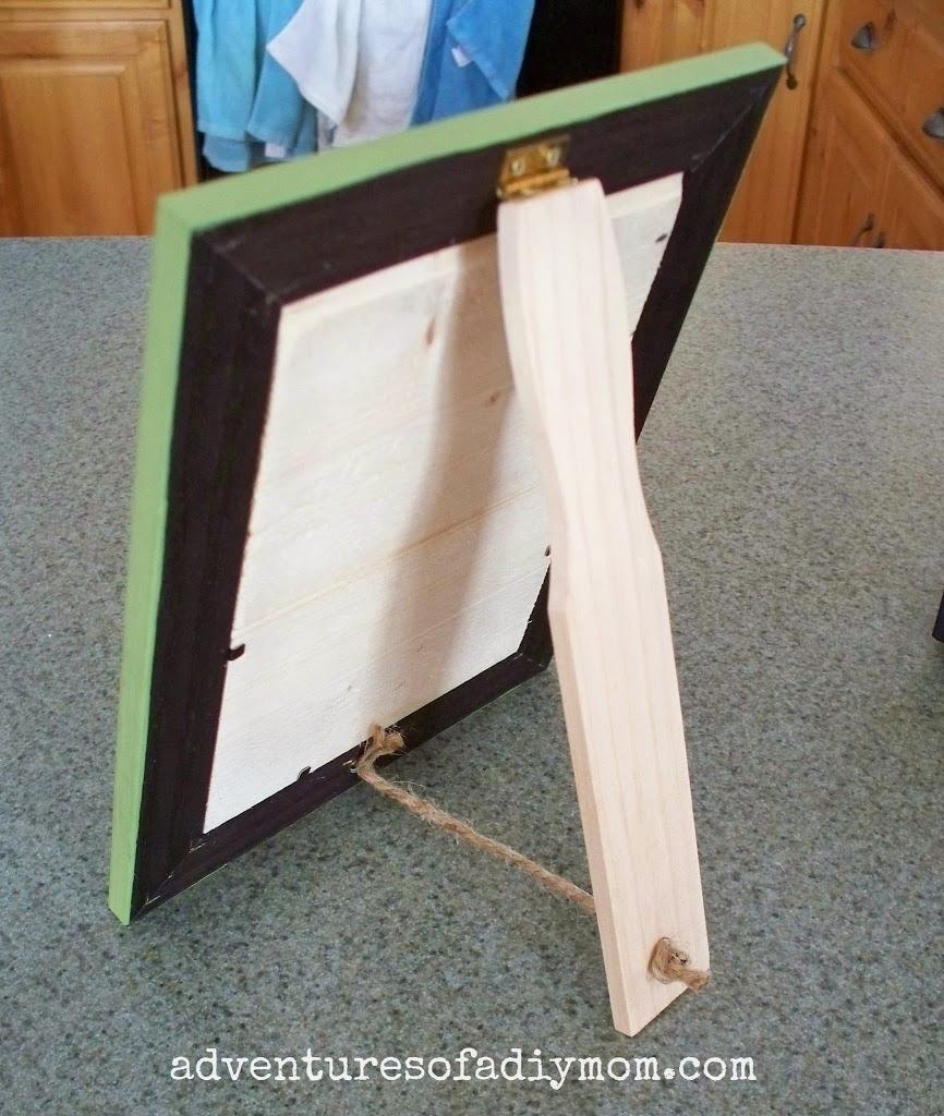 Diy Clothespin Picture Frame U Create