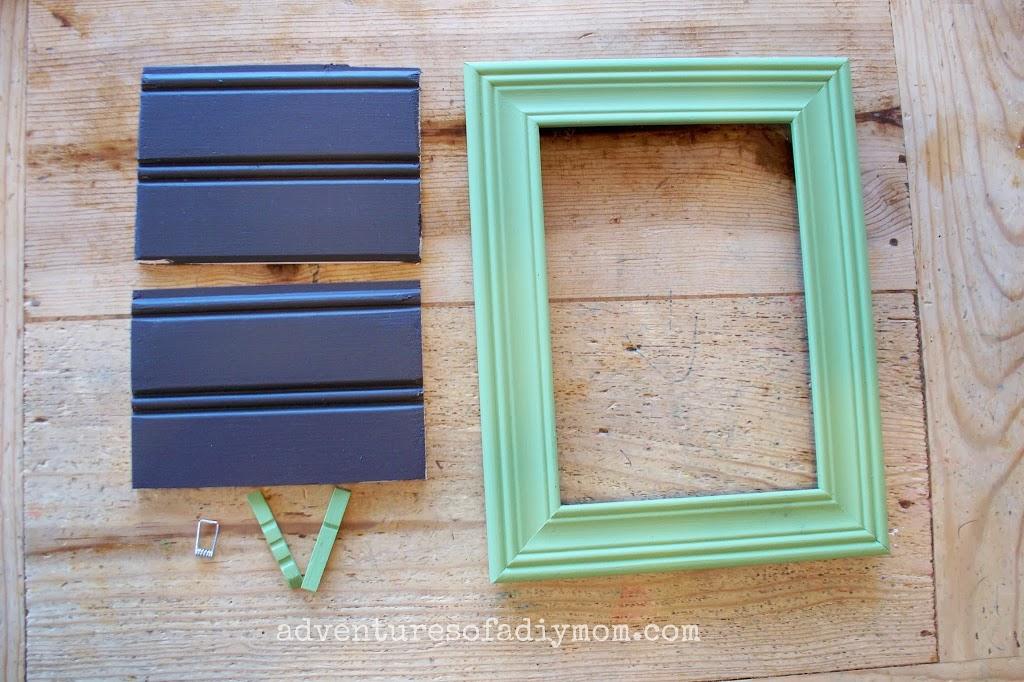 How to Make a Recipe Card Holder Frame