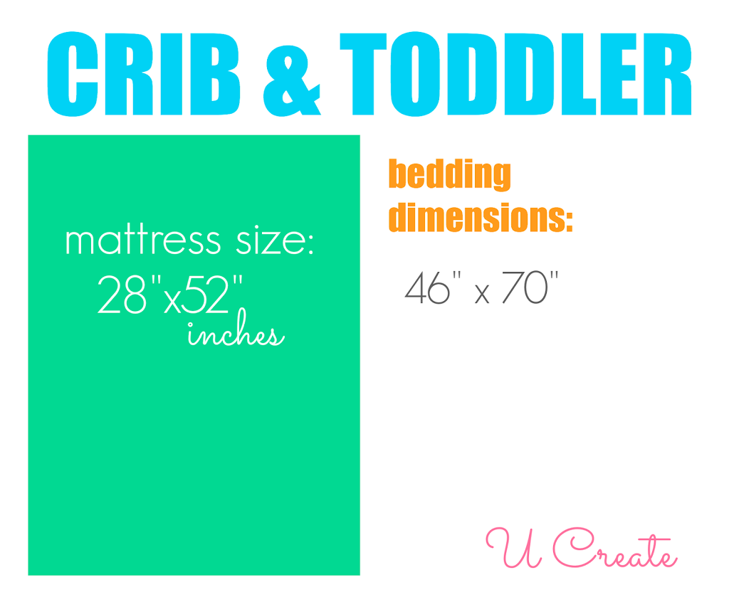 The Ultimate Guide to Bedding Dimensions by U Create