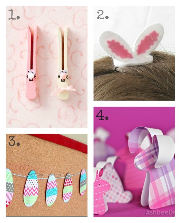 DIY Easter Crafts for Kids u-createcrafts.com