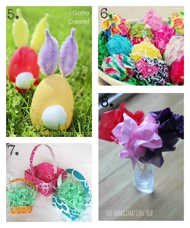DIY Kids Easter Crafts at u-createcrafts.com